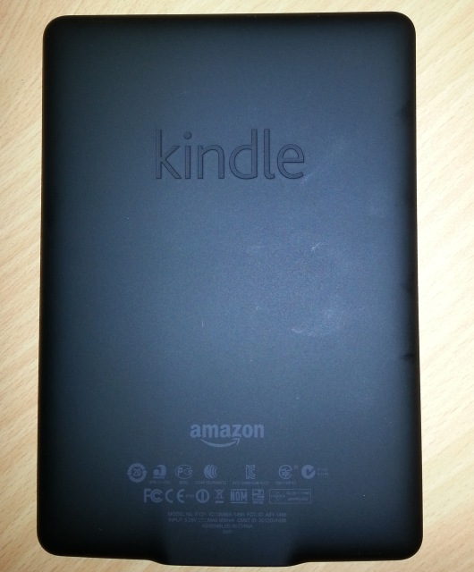 Kindle Paperwhite Back