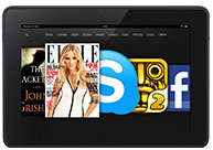 New Kindle Fire HD 8.9-inches International
