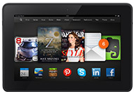 New Kindle Fire HDX 8.9-inches International