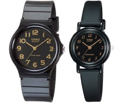 Casio Men and Women's Classic Analog Watches Fiance Gifts