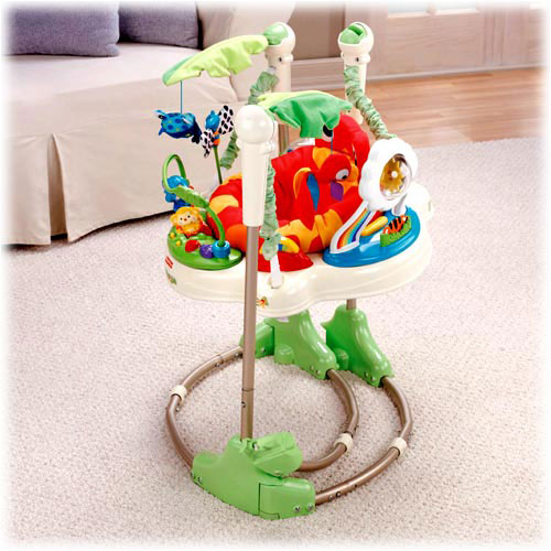 Jumperoo Rainforest Review