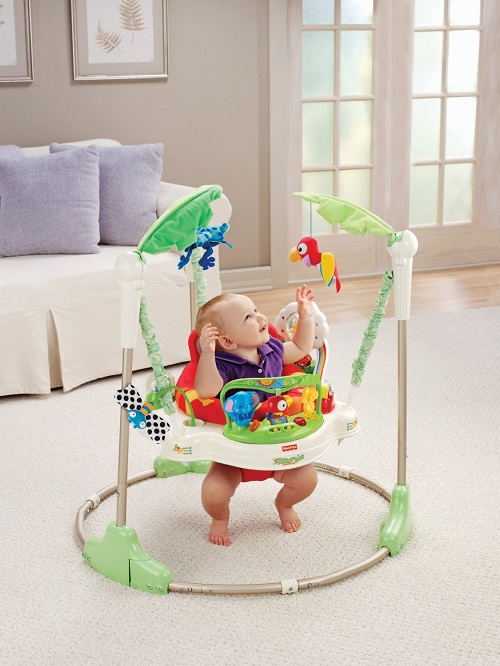 Peace of mind safe jumping fun for baby