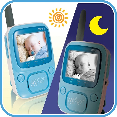 Perfect Baby Monitor at Night and Day