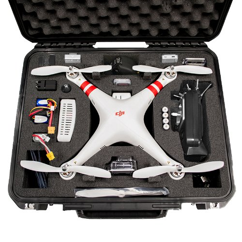 XB-DJI-FPV Phantom Transport & Carrying Case