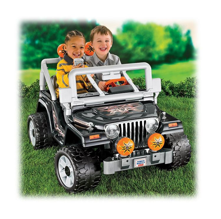 Electric Jeep Wrangler For Kids Power by 12 Volts Battery