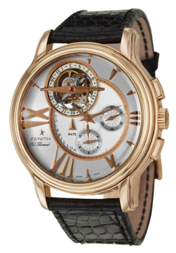 Zenith Academy Tourbillon Mens Automatic Watch Amazon Reviews