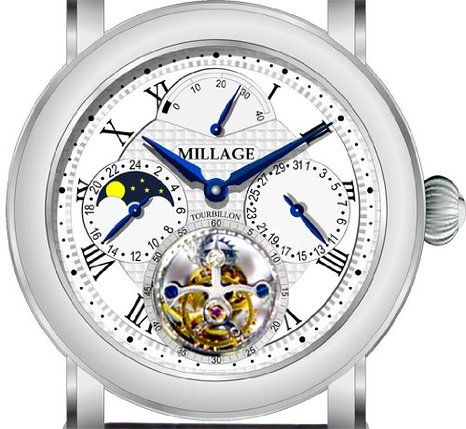 Millage 3826 Silver Dial Mens Watch Review