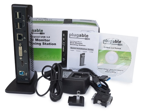 Plugable UD-3900 In the Box