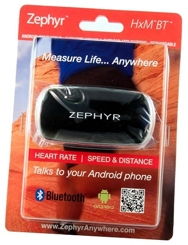 Zephyr HxM Bluetooth WP8 Heart Rate Monitor Review