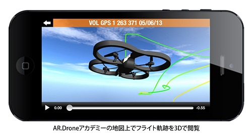 AR.Drone 2.0 3D GPS 4GB flight recorder by iPhone Control