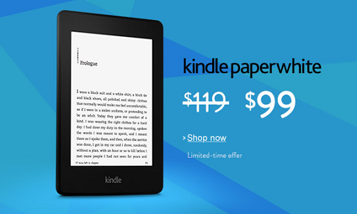 $20 Off Knidle Paperwhite - $99