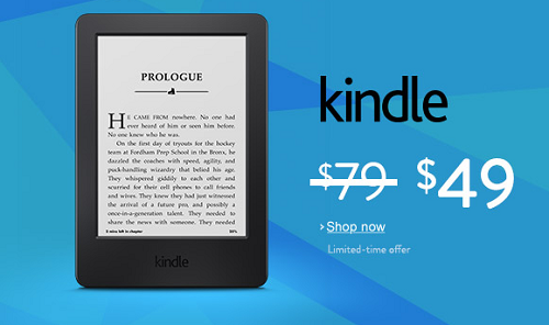 $30 Off Kindle - $49