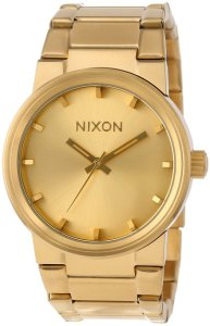 Nixon Cannon All Gold Watch For Sale