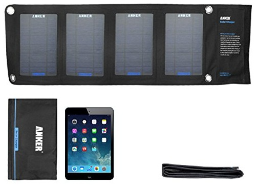 Portable Solar Charger For Hikers