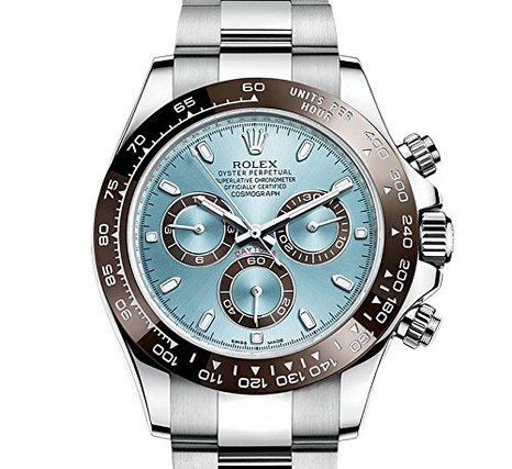 116506IBLSO Rolex Cosmograph Daytona - Ice Blue Dial Automatic Mens Watches