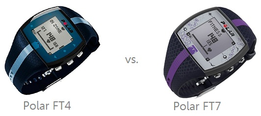 Compare Polar FT4 and FT7
