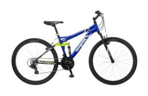 26 Mongoose Ledge 2.1 Men's Mountain Bike Blue