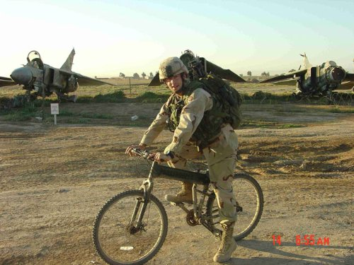 Army Recon Folding Bike