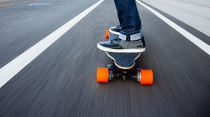 The Orangatang In Heat wheels are perfect for hard turns and hill climbing