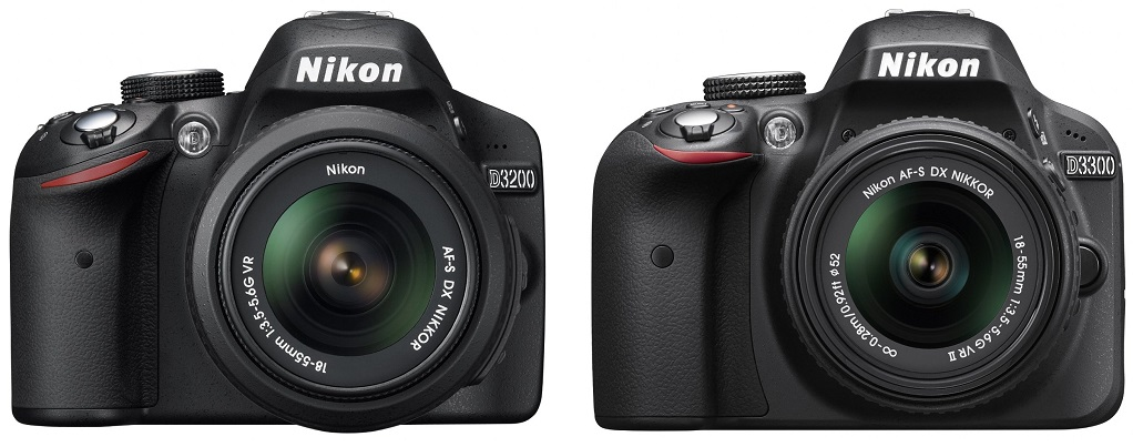 What is the Difference Between Nikon D3200 and D3300