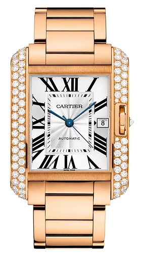 WT100004 Cartier 18k Rose Gold Watch