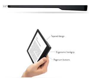 New Kindle Oasis Thinnest and Ergonomic Handgrip