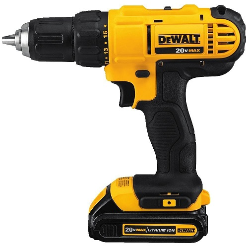 DCD771C2 Highest Rated Cordless Drill for Carpenter Professional