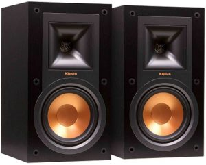 Klipsch R15Mis Small Bookshelf Speaker But Powerful And Sound Is Great High Performance Sensitivity Can Be
